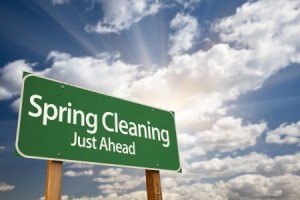 Spring Cleaning Ahead